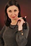 koralika portret Zdjęcie Stock
