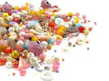 koralika różnorodny kolorowy Obrazy Royalty Free