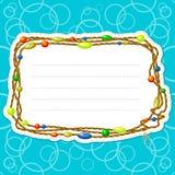 koralika sznur Zdjęcia Royalty Free