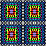Koralika tła wektorowy bezszwowy wzór Fotografia Royalty Free