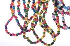 koraliki kolorowi Zdjęcia Royalty Free