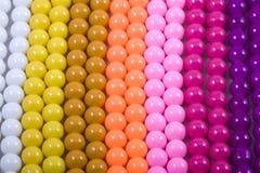 koraliki kolorowi Obraz Stock
