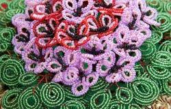 koraliki kwitną liść Fotografia Stock