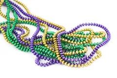 koraliki mardi gras Zdjęcie Royalty Free
