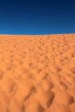 Korallenrote rosafarbene Sanddünen Stockfoto