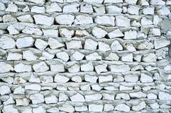 Korallenrote Wand Stockbild