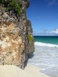 Korallenroter Felsen Lizenzfreies Stockbild