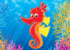 korallrev Royaltyfri Illustrationer
