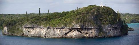 Koralowej wyspy panorama Zdjęcia Stock