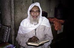 Koran卖主,开罗。 埃及 库存照片