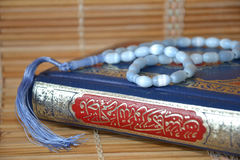 The Koran � the sacred book of Muslims. Royalty Free Stock Image