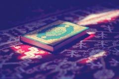 Koran - święta księga muzułmanin jawna rzecz wszystkie muslims w meczecie Zdjęcie Royalty Free