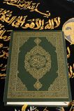 Koran. Islamic holy book, Koran or Qur`an stock photo