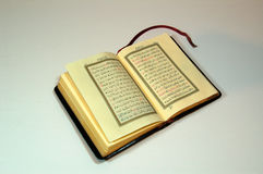 Koran. One modern copy of corano Royalty Free Stock Image
