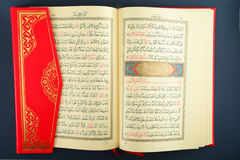 Koran. Holy Koran - Muslim's holy book royalty free stock photography