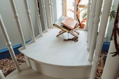 Koran book Islam God Mosque religion. Islam Koran Book God Mosque religion royalty free stock photo