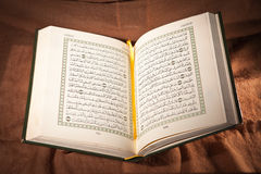 Koran, holy book royalty free stock photography