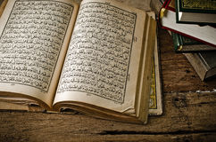 Koran - holy book of Muslims Royalty Free Stock Photography