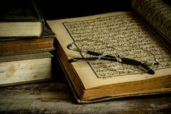 Koran - holy book of Muslims. Still life Royalty Free Stock Images