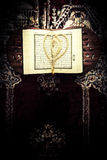 Koran - holy book of Muslims,vintage style filtered photo Stock Images