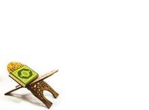 Koran - holy book of Muslims. On white background Royalty Free Stock Image