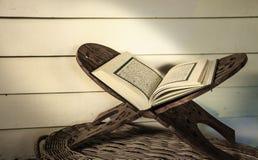 Koran - holy book of Muslims. On white background Stock Photo
