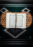 Koran - holy book of Muslims. On white background Royalty Free Stock Images