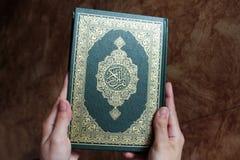 Koran lub koranu święta księga Obrazy Royalty Free