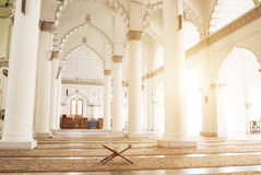 Koran in the mosque Stock Photography