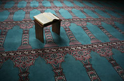 Koran in the mosque Stock Image