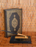 The Koran – the sacred book of Muslims. Royalty Free Stock Image