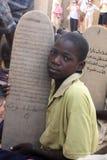 Koranenschoolboy Arkivbild