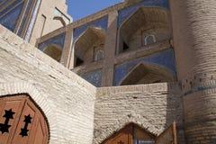 Koranische Schule in Samarkanda Stockfoto