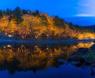 Korankei Forest autumn park Nagoya Stock Image