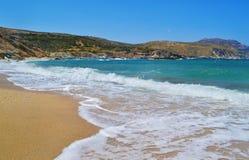 Korasida beach Euboea Greece Stock Images