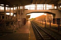 Korat järnvägsstation Arkivbild