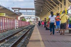 Korat Railway station Royalty Free Stock Images