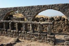Korazim national park. Royalty Free Stock Photo