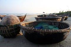 Korb-Boote Stockbild