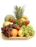 Korb der Frucht Stockbilder