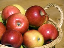 Korb der Frucht Lizenzfreie Stockfotos