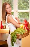 Korb der gesunden Diät Stockfoto