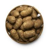 Korb der Kartoffeln Stockbilder