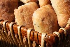 Korb des Brotes Lizenzfreies Stockbild