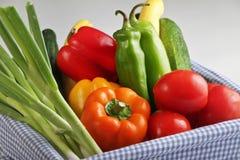 Korb des Gemüses Lizenzfreies Stockfoto