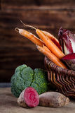 Korb des Gemüses Lizenzfreie Stockfotografie