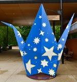 Korb-Fülle von Sternen Stockfotos