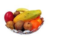 Korb mit Frucht Stockfotografie
