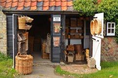 Korb-Shop Orford Stockfotos