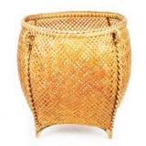 Korb vom Bambus Stockfotografie